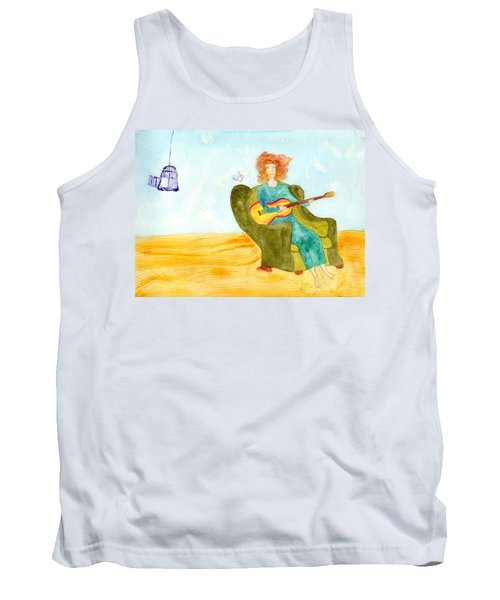 Bird Song Tank Top
