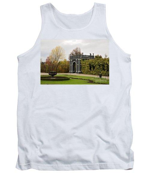 Tank Top featuring the photograph  Garden Gate Schonbrunn Palace Vienna Austria by Imran Ahmed