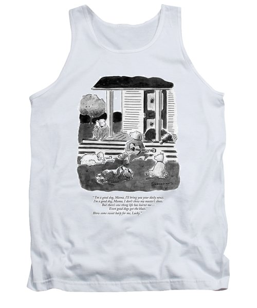 'i'm A Good Dog Tank Top