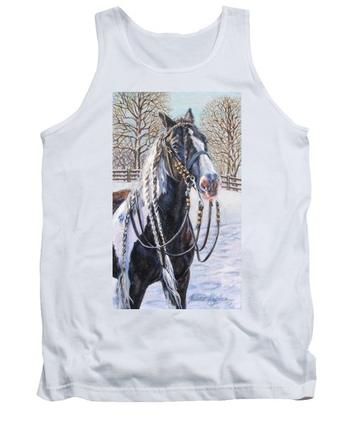 I'm Ready For The Ribbons Gypsy Vanner Horse Tank Top