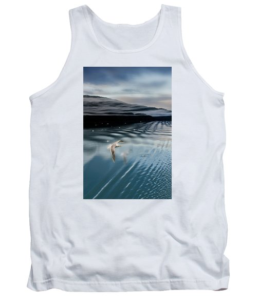 Journey With A Sea Gull Tank Top