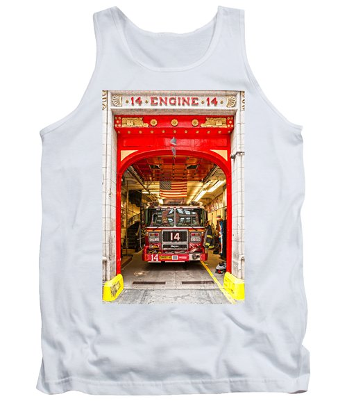 New York Fire Department Engine 14 Tank Top