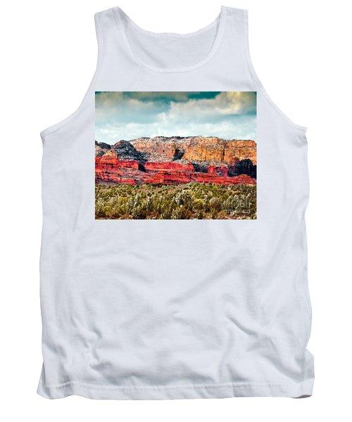 Secret Mountain Wilderness Sedona Arizona Tank Top