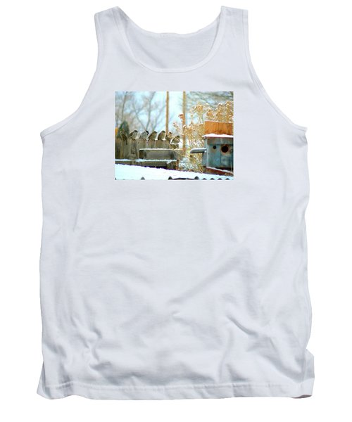 7 Winter Sparrows Tank Top