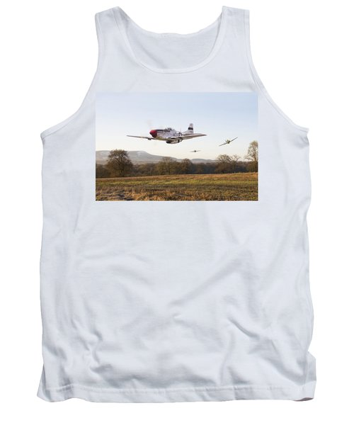 Through The Gap Tank Top by Pat Speirs