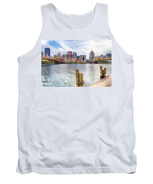 0310 Pittsburgh 3 Tank Top