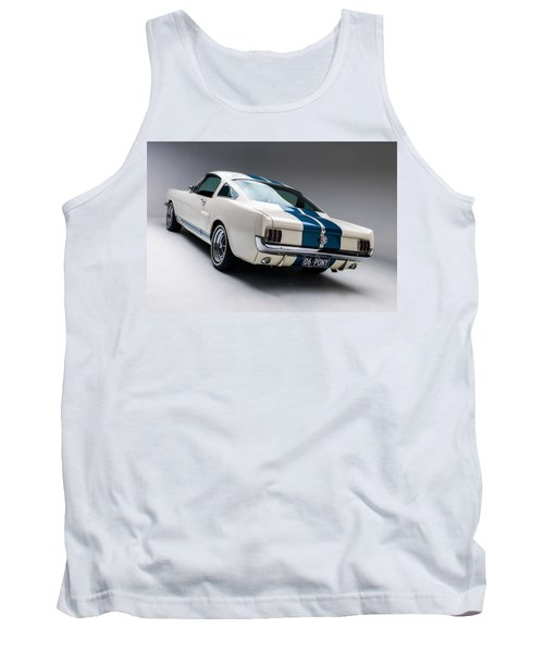 Tank Top featuring the photograph 1966 Mustang Gt350 by Gianfranco Weiss