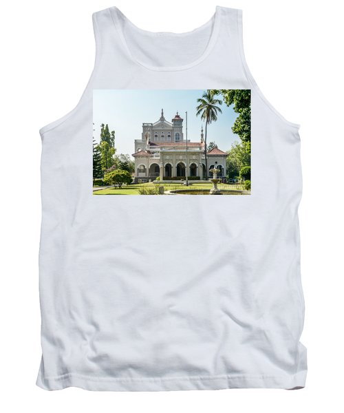 Aga Khan Palace Tank Top by Kiran Joshi