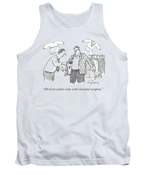 All Of Our Jackets Come With Concealed Weapons Tank Top