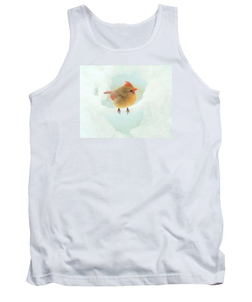 Baby Female Cardinal Tank Top by Janette Boyd