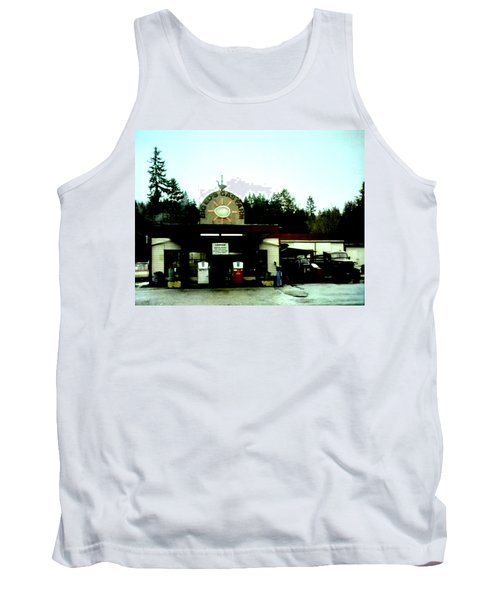 Tank Top featuring the painting Big Eds by Luis Ludzska