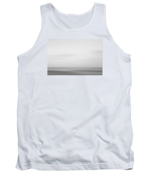 Black And White Abstract Seascape No. 01 Tank Top