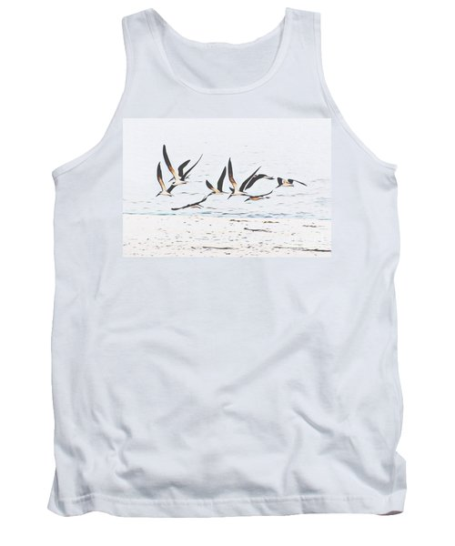 Coastal Skimmers Tank Top by Scott Cameron