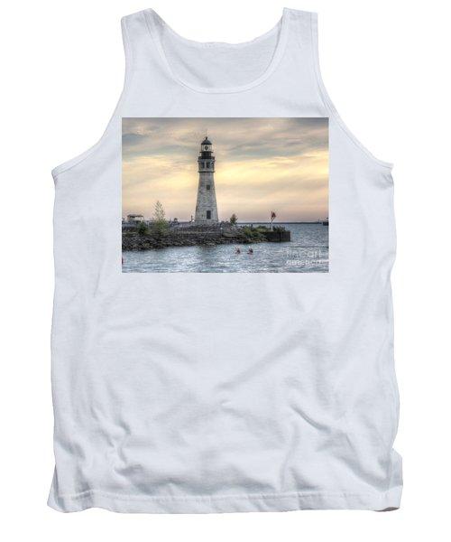 Coastguard Lighthouse Tank Top