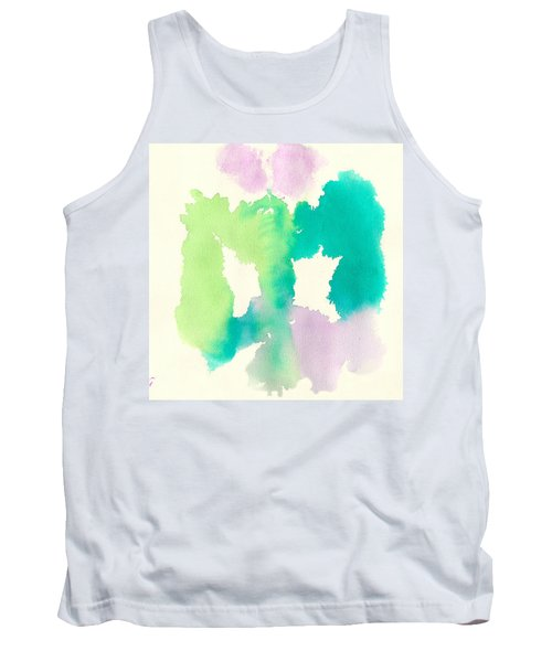 Tank Top featuring the painting Cocoon by Frank Bright