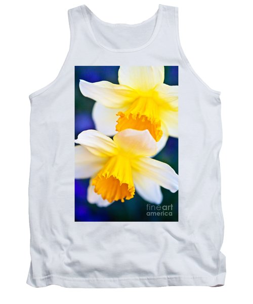 Tank Top featuring the photograph Daffodils by Roselynne Broussard