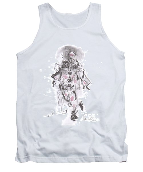 Dancing Clown Tank Top by Laurie L
