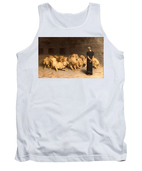 Daniel In The Lions' Den Tank Top