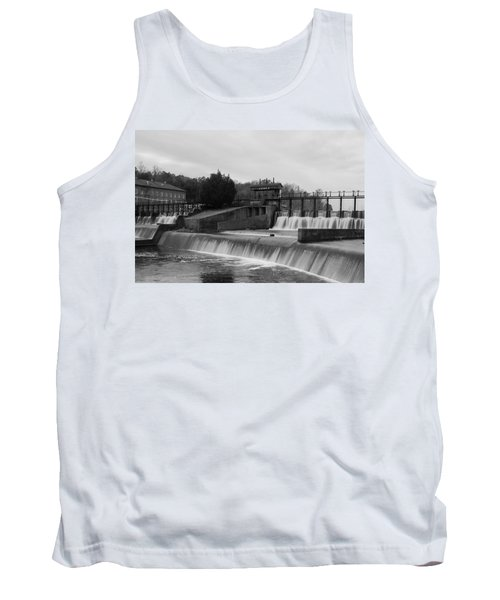 Daniel Pratt Cotton Mill Dam Prattville Alabama Tank Top