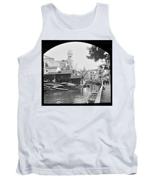 Tank Top featuring the photograph Pegnitz River Nuremberg Germany 1903 by A Gurmankin