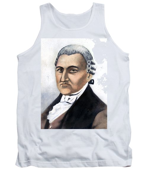 Tank Top featuring the painting David Brearley (1745-1790) by Granger