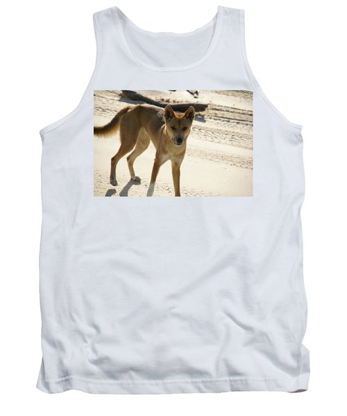 Dingo Tank Top by Carol Ailles