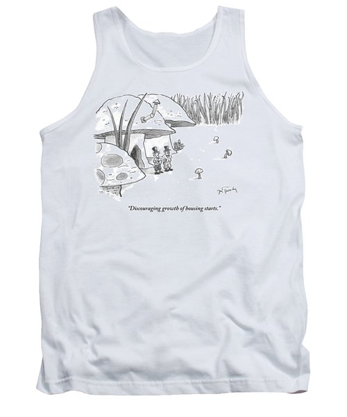 Discouraging Growth Of Housing Starts Tank Top