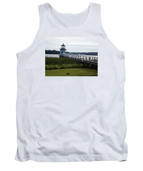 Doubling Point Lighthouse Tank Top by Catherine Gagne