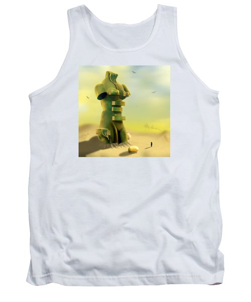 Drawers Tank Top by Mike McGlothlen