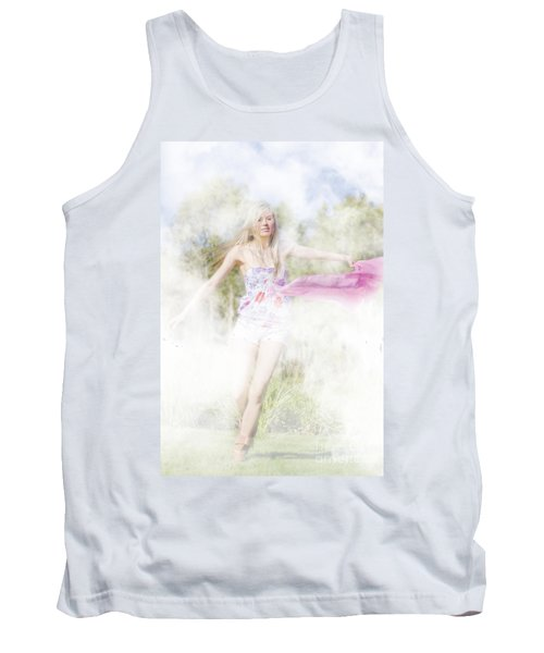 Dreamy Enchanted Forest Dancer Tank Top