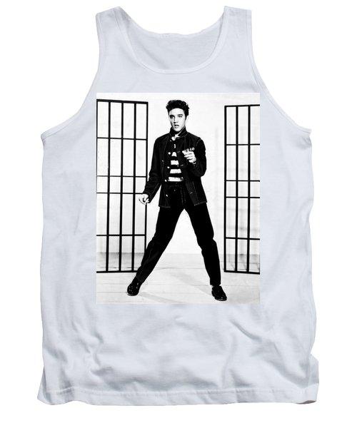 Elvis Presley Tank Top by Doc Braham
