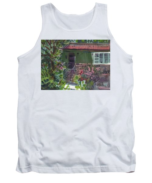 Tank Top featuring the painting Entrance by Donald Maier