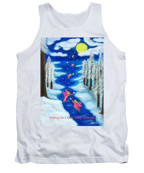 Faery Merry Christmas Tank Top