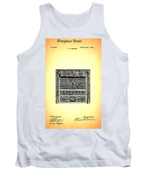 Fireplace Front Patent 1902 Tank Top