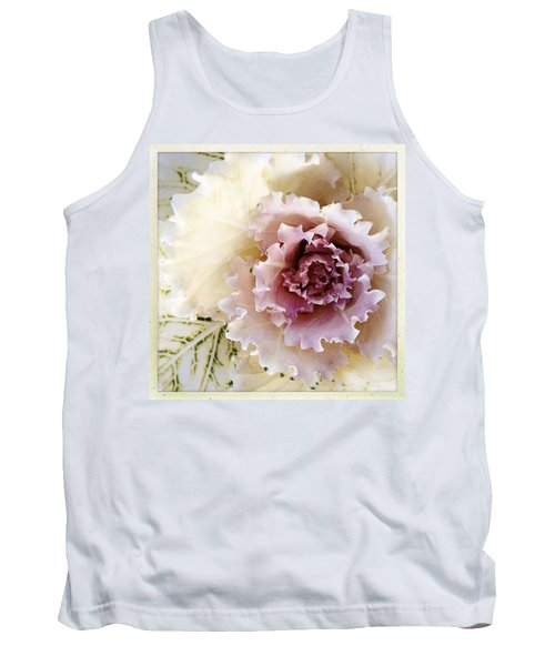 Flower Tank Top by Les Cunliffe