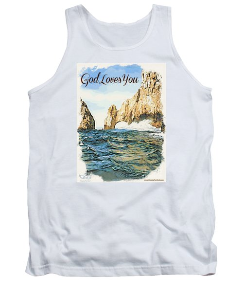God Loves You Tank Top