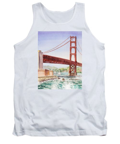 Golden Gate Bridge San Francisco Tank Top
