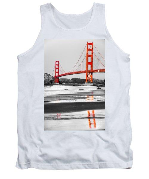 Golden Gate - San Francisco - California - Usa Tank Top