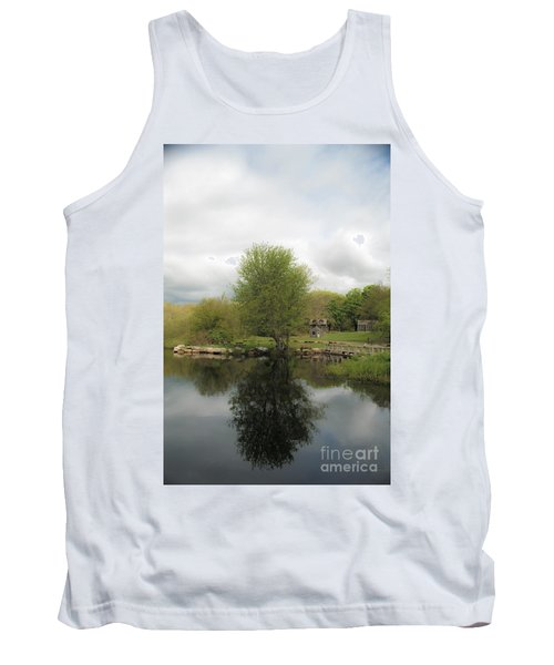 Grays Mill Pond Tank Top by Angela DeFrias