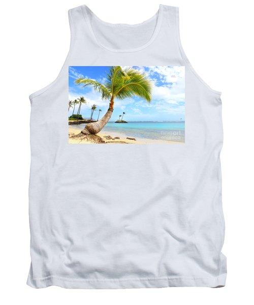 Hawaiian Paradise Tank Top by Kristine Merc