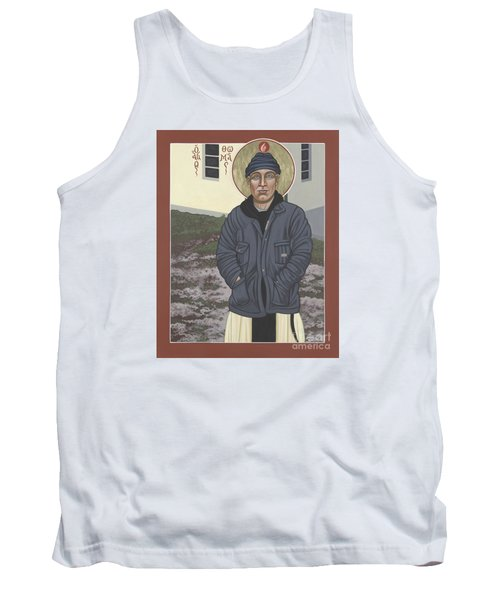 Holy World Evangelist Thomas Merton 267 Tank Top by William Hart McNichols