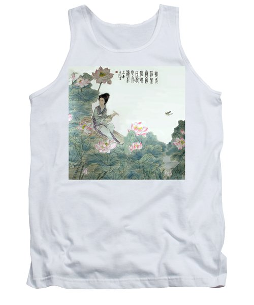 Lotus Pond Tank Top