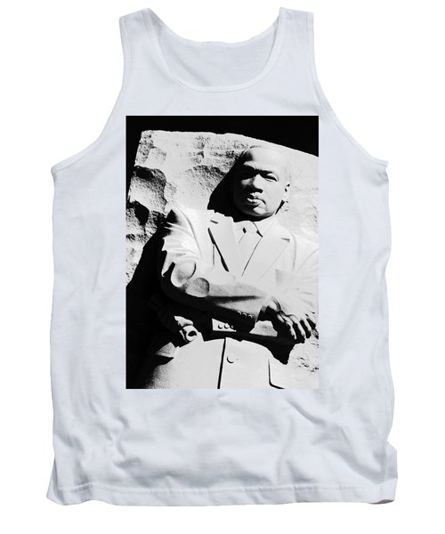 Tank Top featuring the photograph Martin Luther King Memorial by Cora Wandel