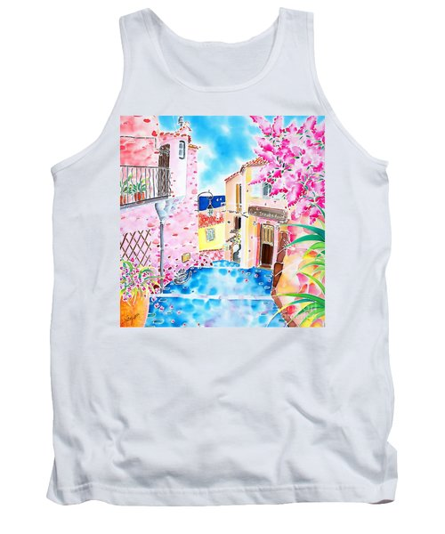Mediterranean Wind Tank Top