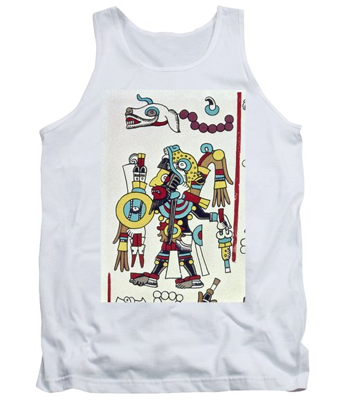 Mixtec Ruler Eight Deer Tank Top
