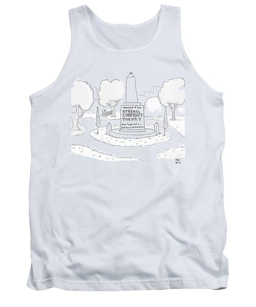 Monument Of The Eternal Conspiracy Theory Tank Top