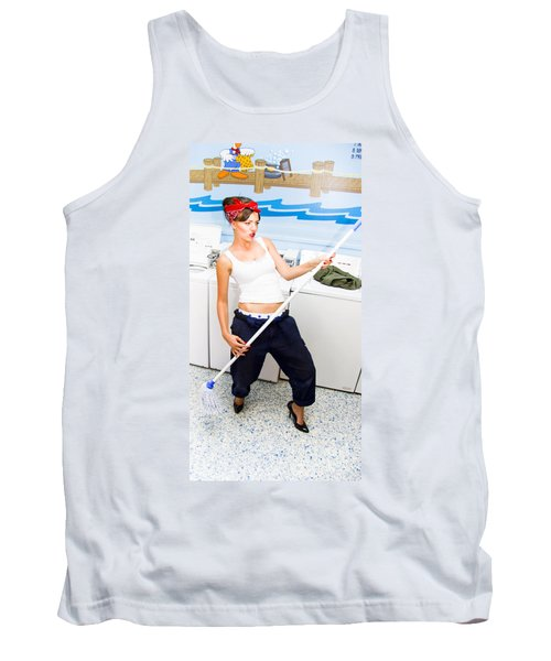 Mop And Roll Tank Top