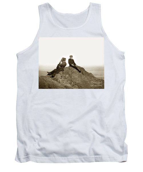 Tank Top featuring the photograph Mount Tamalpais Marin County  Circa 1902 by California Views Mr Pat Hathaway Archives