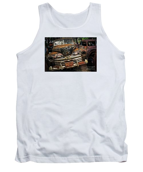 Old Rusty Ford Tank Top