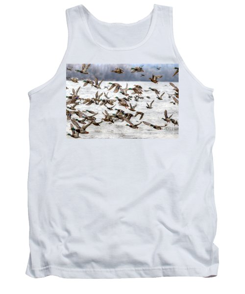 Tank Top featuring the photograph One Direction by Robert Pearson